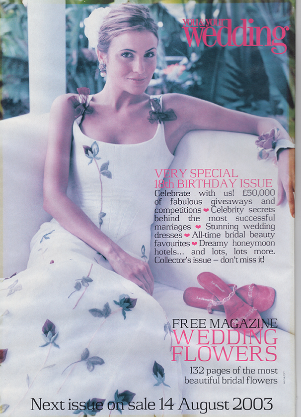 You & Your Wedding mag front cover 2003